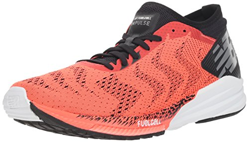 New Balance Herren Fuel Cell Impulse Laufschuhe, Orange (Flame/Black Rb), 46.5 EU -