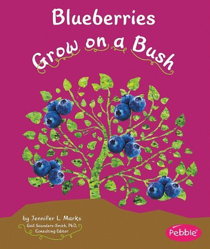 Blueberries Grow on a Bush (How Fruits and Vegetables Grow) by Mari Schuh (2011-01-02)