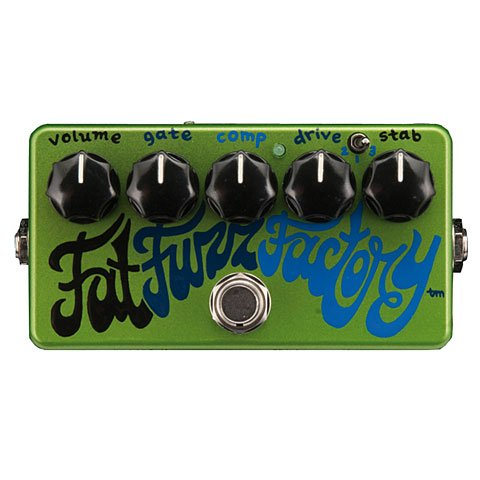 Z VEX FAT FUZZ FACTORY · PEDAL GUITARRA ELECTRICA