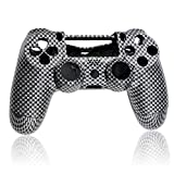 Controller Austauschgehäuse - Carbon mit Pad und Tasten /PS4