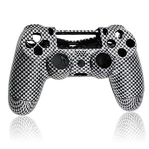 Controller Austauschgehäuse – Carbon mit Pad und Tasten /PS4