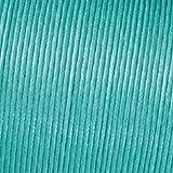 Kumihimo 2mm x 6m Baumwolle Gewachst Cord, Light Turquoise