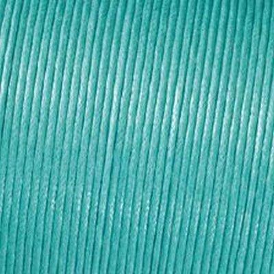 Kumihimo 2mm x 6m Baumwolle gewachst Cord, Light Turquoise (Stricken Für Kinder Sachen)