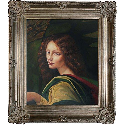 overstockArt The Virgin of The Rocks Gerahmter Öl Reproduktion eines Original Gemälde von Leonardo...
