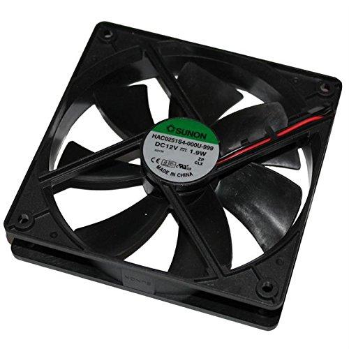 Fan/Ventilateur 12V 1,9W 120x120x25mm 93,4m³/h 30dBA ; Sunon HAC0251S4-999