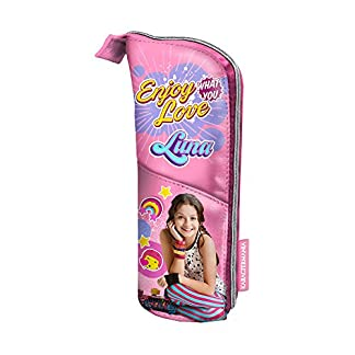 Karactermania 30287 Soy Luna Roller Zone Estuches, 21 cm, Rosa