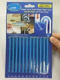 CIM 12PCS Mic (1Pezzi) Blu Oceano Enzymatic Drain Sticks–Aiuta a prevenire Le ostruzioni,–1Anno di Protezione per Pacchetto