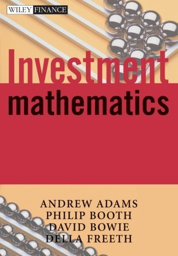 Investment Mathematics by Andrew A. Adams (2002-08-15)