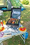 Campingaz Gasgrill 1 Series Compact LX R, Kompakter Tischgrill mit Stahlbrenner, Deckel -Thermometer - 7