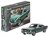 Revell Modellbausatz Auto 1:24 - 1965 Ford Mustang 2+2 Fastback im Maßstab 1:24, Level 4, originalgetreue Nachbildung mit vielen Details, 07065