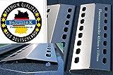 3 x 435mm x 150mm Edelstahl Flammenverteiler / Flammenabdeckung / Grillblech - super Ersatzteil für viele verschiedene Gasgrills (435-150-1)