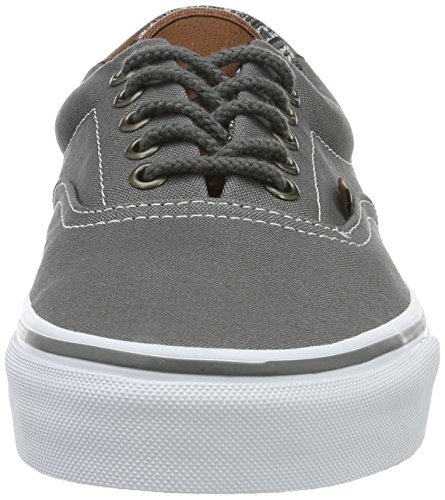 Vans Era 59, Baskets Basses Mixte Adulte Gris (C&L)