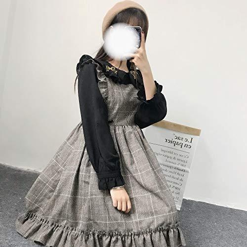 tter Süße Lolita Kleid Palace Spitze Viktorianischen Kleid Tea Party Prinzessin Gothic Lolita Renaissance Kawaii Mädchen Loli ()