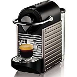 Nespresso Krups Pixie XN3005 - Cafetera monodosis de cápsulas Nespresso