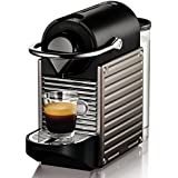 Krups XN 3005 Nespresso Pixie (19 bar, Thermoblock-Heizsystem) electric titan