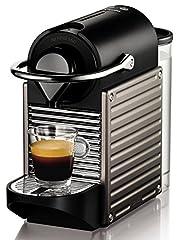 Idea Regalo - Nespresso Pixie XN3005 macchina per caffè espresso di Krups, colore Electric Titan