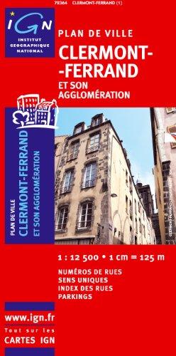 72364 PLAN DE CLERMONT-FERRAND 1/12.500