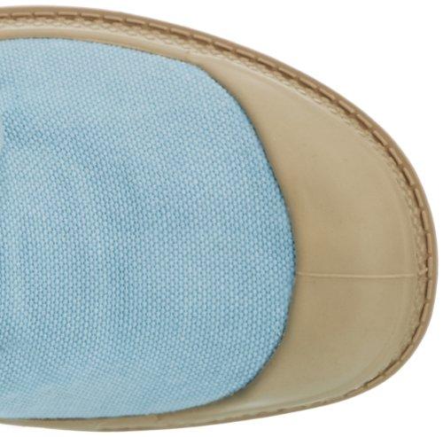 Palladium PAMPA HI~SALMON PINK/PUTTY~M 92352-670-M Damen Schnürhalbschuhe Blau/Putty