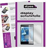dipos I 2X Schutzfolie klar passend für HP Pro Slate 8 Folie Bildschirmschutzfolie
