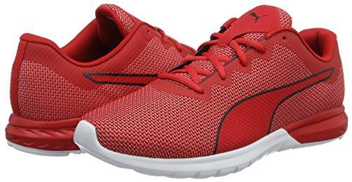 Puma Vigor  Men   s Competition Running Shoes  Red  High Risk Red-puma White 04   10 UK  44 5 EU