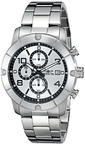 Invicta Men's 17764 Specialty Analog Display Japanese Quartz Silver Watch
