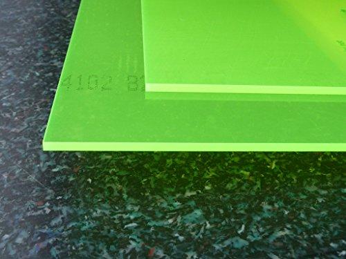 Plexiglas GS, 500 x 500 x 3mm, grün