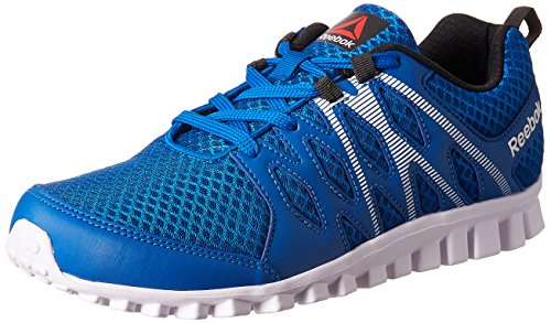 Reebok Boy's Arcade Runner Lp Blue, Gravel and White Sports Shoes – 4.5 UK/India (36.5 EU)(5 US) 51wgr3Yd2xL