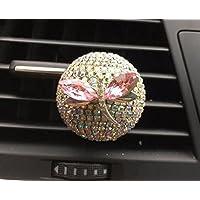 YLLY Strass Libelle Parfüm Clip Lufterfrischer Diffusor Klimaanlage Luftauslass für Auto