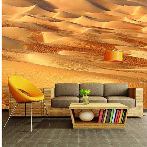 Lvabc 3D Stereo Wüste Natur Landschaft Foto Tapete Wohnzimmer Sofa Tv Hintergrund Wanddekoration Wandmalerei Moderne 3D Wandbilder-150X120Cm 6280 Stereo
