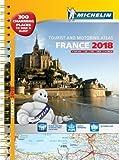 France 2018 - A3 Tourist & Motoring Atlas: Tourist & Motoring Atlas A3 spiral (Michel...