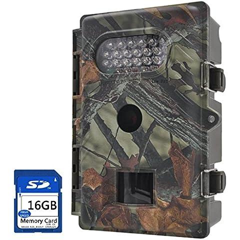 FULLLIGHT TECH Outdoor 7208MP Trail macchina fotografica con visione notturna