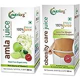 Nutriorg Organic Amla & Obesity Care Juice - Weightloss Package