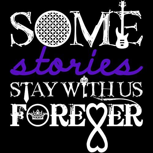 Some Stories Stay With Us Forever - Damen T-Shirt von Fashionalarm | Für Fans von beliebten Liebesromanen | Fun Shirt Spruch Fandom Fan Roman Film Verfilmung | Shades After Crossfire Thoughtless Plaza Schwarz