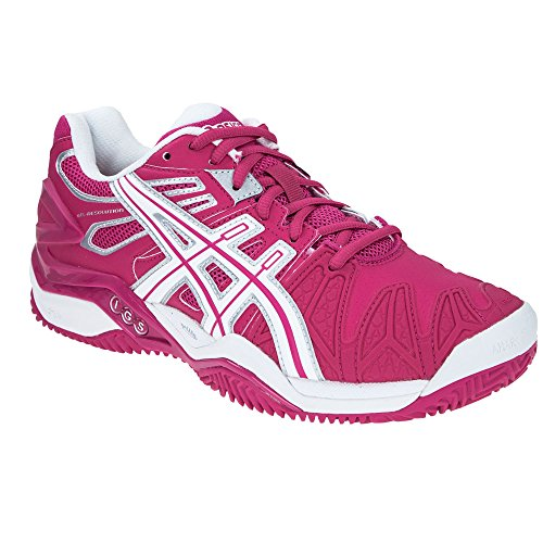 Chaussures ASICS Gel Resolution 5 Clay Blanc