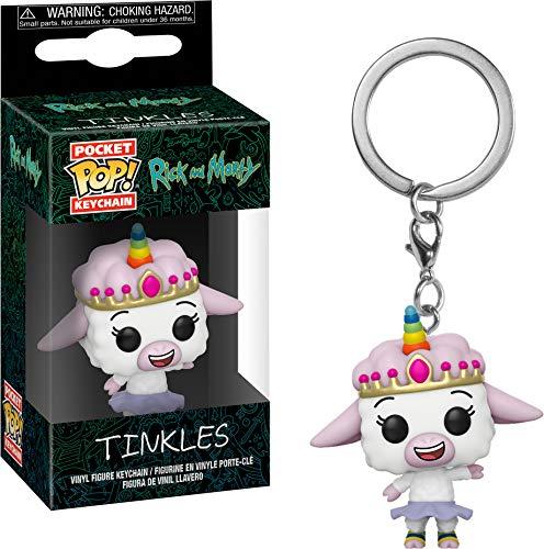 Funko Keychaim Rick & Moty Tinkles, Multicolor (35931)