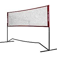 Victor Premium multifunción–Red Bádminton, Tenis, Fútbol Tenis UVM.–300cm de Ancho; Altura Regulable, 859/3/0