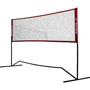 VICTOR Premium Multifunktionsnetz – Badminton, Tennis, Fußballtennis uvm. – 300 cm breit; höhenverstellbar, 859/3/0