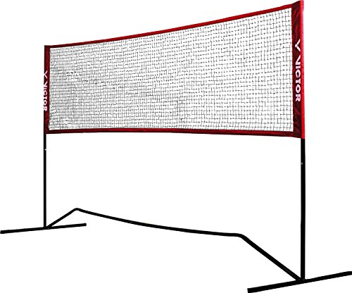 Victor premium multifunctional net, badminton, tennis, football tennis and much more. 300 cm wide; height adjustable, 859/3/0 Test