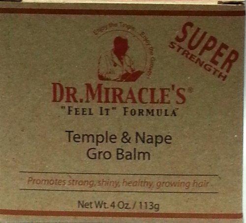 Dr Miracles Temple & Nape Gro Balm Super Strength113g - Nape Gro Balm