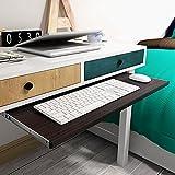 """homdsim 19.6810.63""""Home muebles de jardín bandeja de teclado oficina cajones Slide moda mesa de ordenador Rail Rack accesorios"""