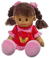 Idea Regalo - Heunec 470873 - Bambola Lucy con Capelli castani, Misura XL 50 cm
