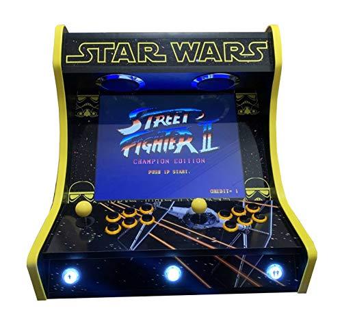 Roboticaencasa Maquina Arcade BARTOP Star Wars EDICIÓN Deluxe VIDEOCO