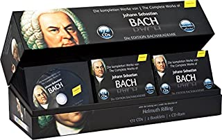 Intégrale des Oeuvres de Jean-Sébastien Bach Coffret 172 CD Édition Limitée (B003LR4QPE) | Amazon price tracker / tracking, Amazon price history charts, Amazon price watches, Amazon price drop alerts