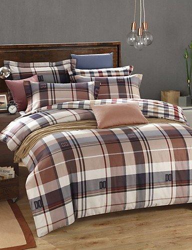 GAOL, quattro pezzi tuta,40s raso raso di cotone morbido 4 pezzo pacchetto biancheria da letto biancheria da letto attiva set , king
