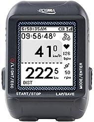 trywin/posma D2GPS Wireless Fahrrad Computer Tacho Kilometerzähler mit Navigation, ant + Anschluss, unterstützt GPX Datei-Upload zu strava und mapmyride (bhr20Herzfrequenz Monitor und bcb20Speed/Cadence Sensor Bundle Option erhältlich)