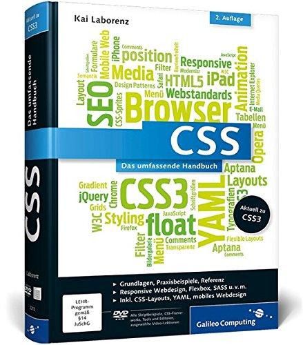 CSS: Das umfassende Handbuch (Galileo Computing) Buch-Cover