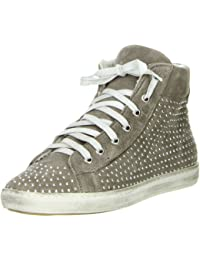 Méliné Damen High-Top Sneaker grau