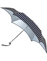 Fulton Parasoleil Protection anti-UV SPF 50+–Parapluie pliable nautique à rayures