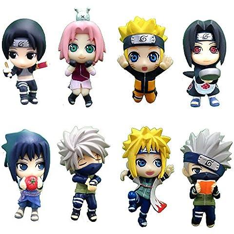 Naruto Shippuden Ochatomo Series Figuras 5 cm Konoha Break Time Surtido (8)