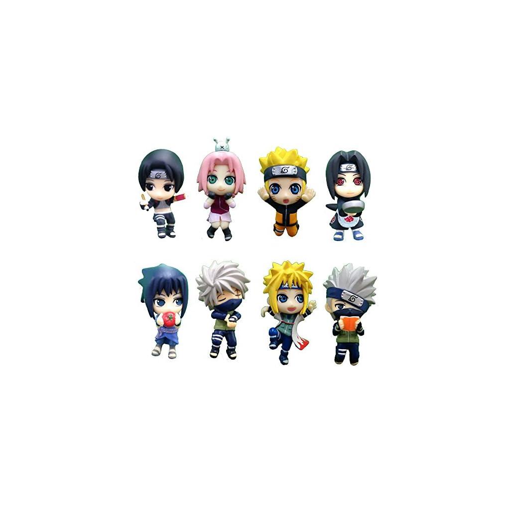 Naruto Shippuden Ochatomo Series Figuras 5 cm Konoha Break Time Surtido (8) 3